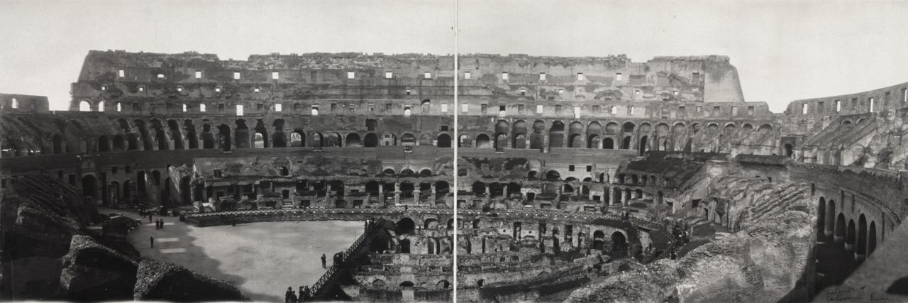 Colisée, Rome - 1909