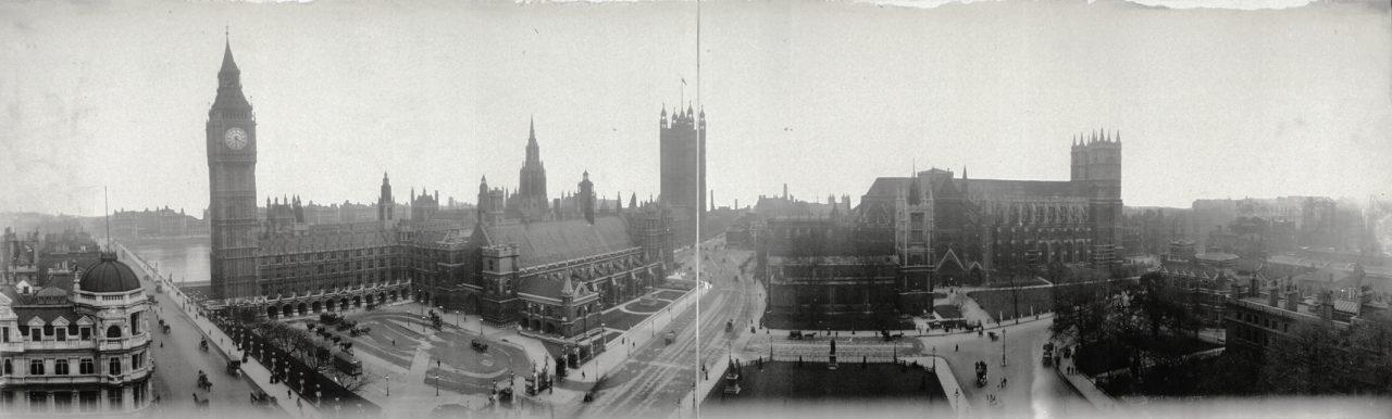Parliement Square, Londres - 1909