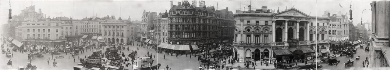 Piccadilly Circus, Londres - 1909