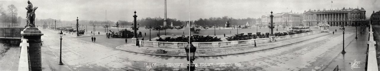 Place de la Concorde, Paris - 1919