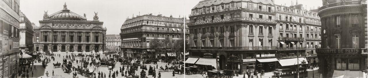 Place de l'Opéra, Paris - 1909