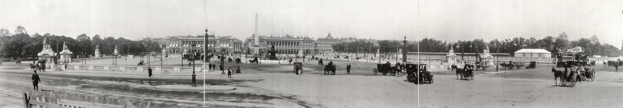 Place de la Concorde, Paris - 1909