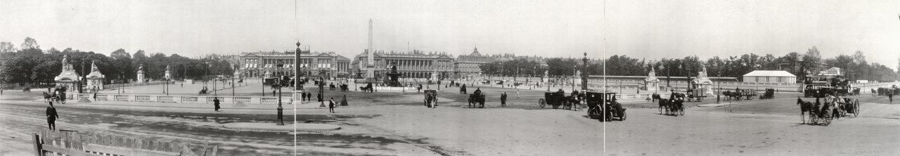 Place de la Concorde, Paris - 1909