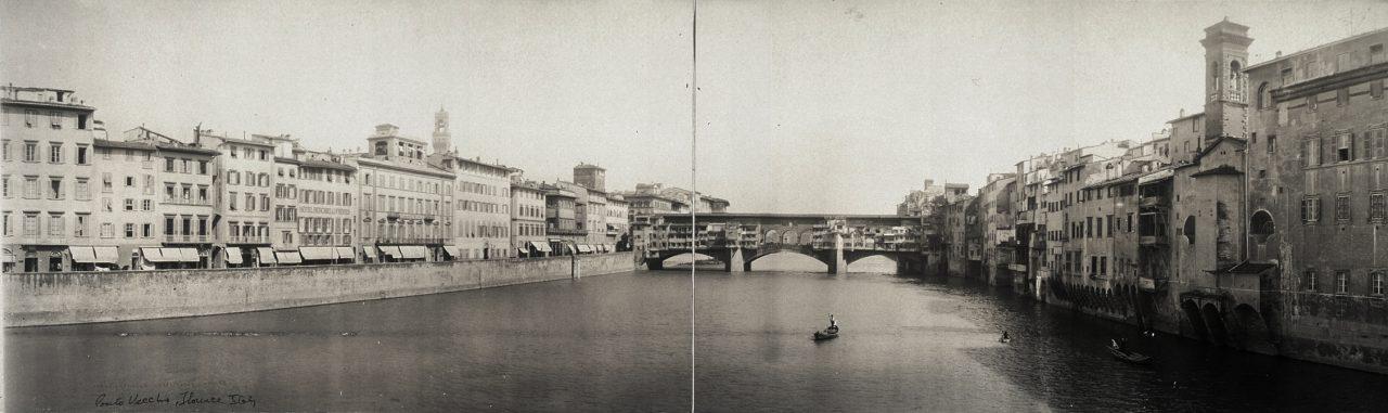 Ponto Vecchio, Florence - 1910
