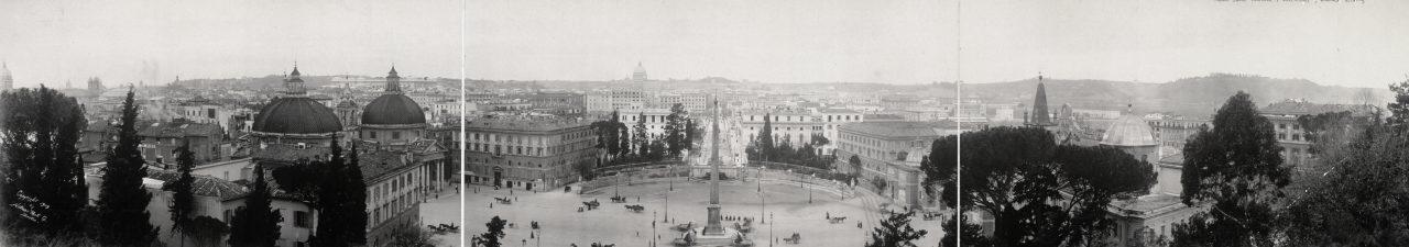 Rome depuis le Mont Pincio - 1909