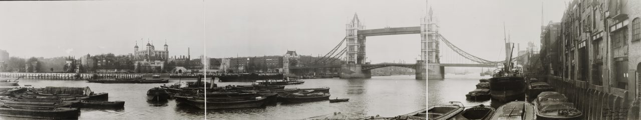 Tower Bridge, Londres - 1909
