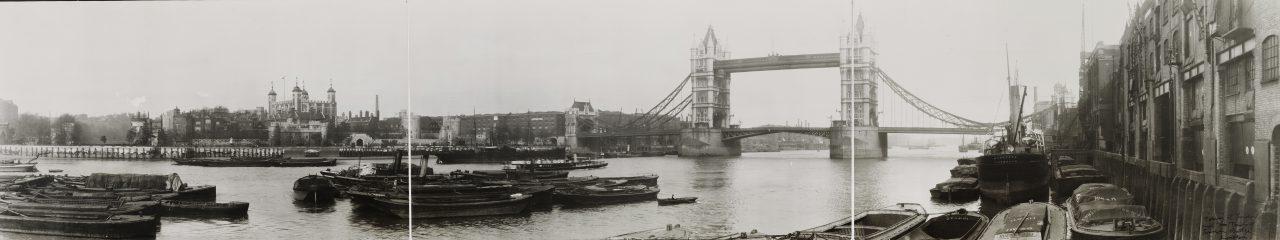 Tower Bridge, Londres - 1909