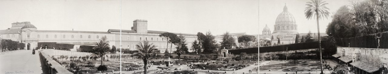 Jardins du Vatican, Rome - 1909