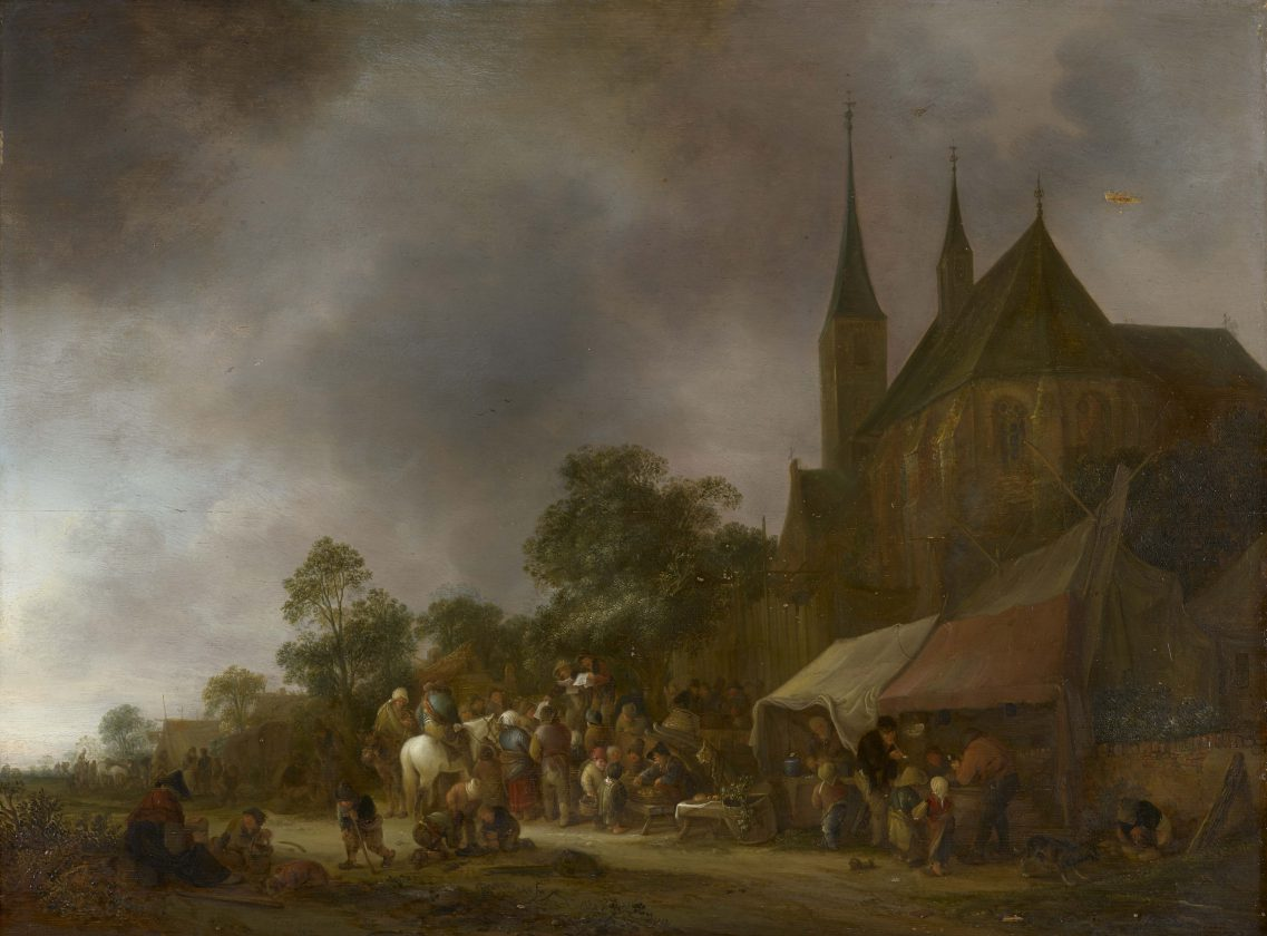 Van-Ostade-A-Village-Fair-apres