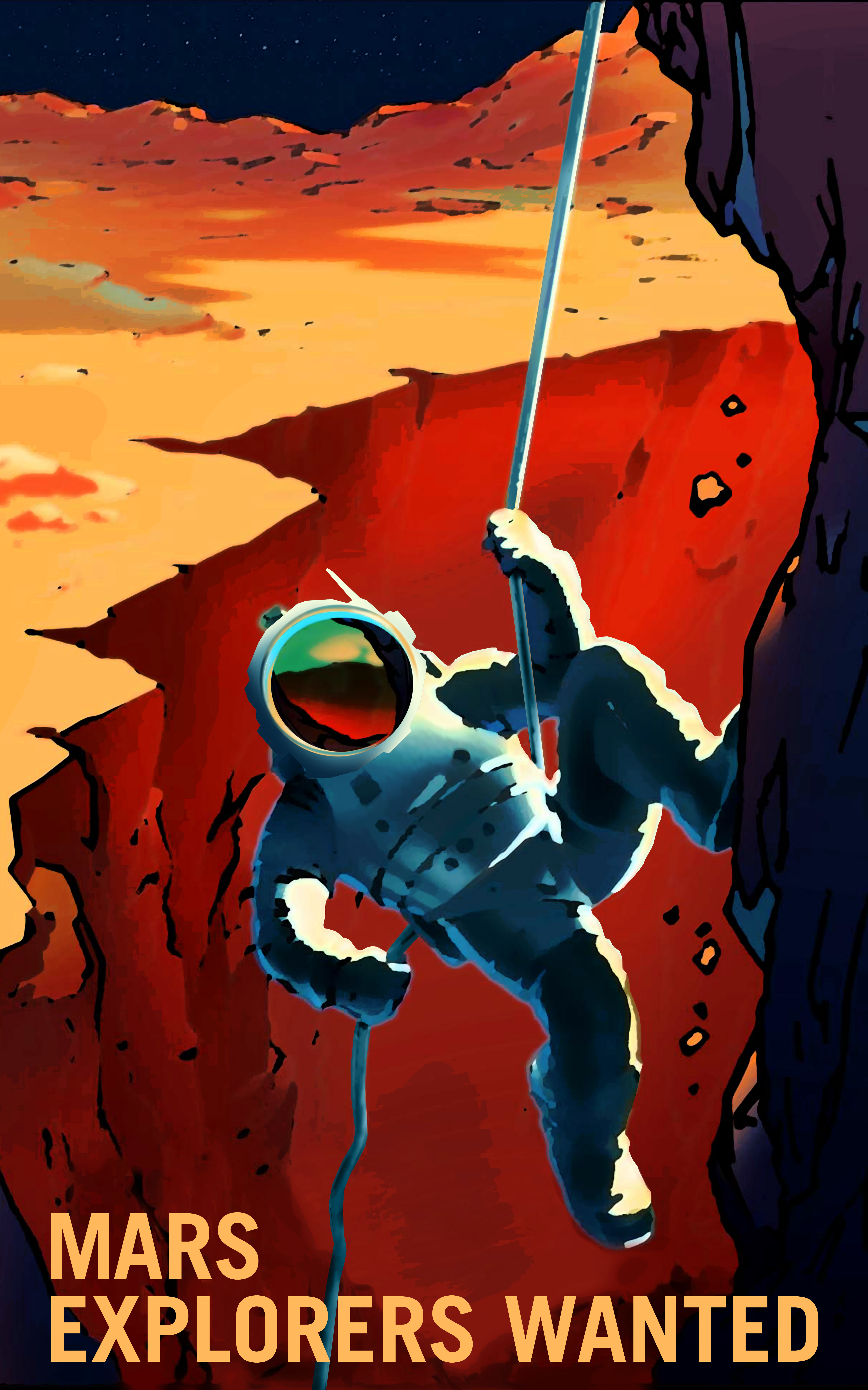 nasa explorer mars - 750×1000