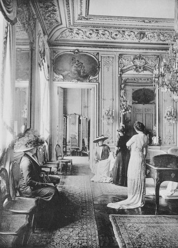 Les cr ateurs de la mode paris en 1910 for Salon mode paris
