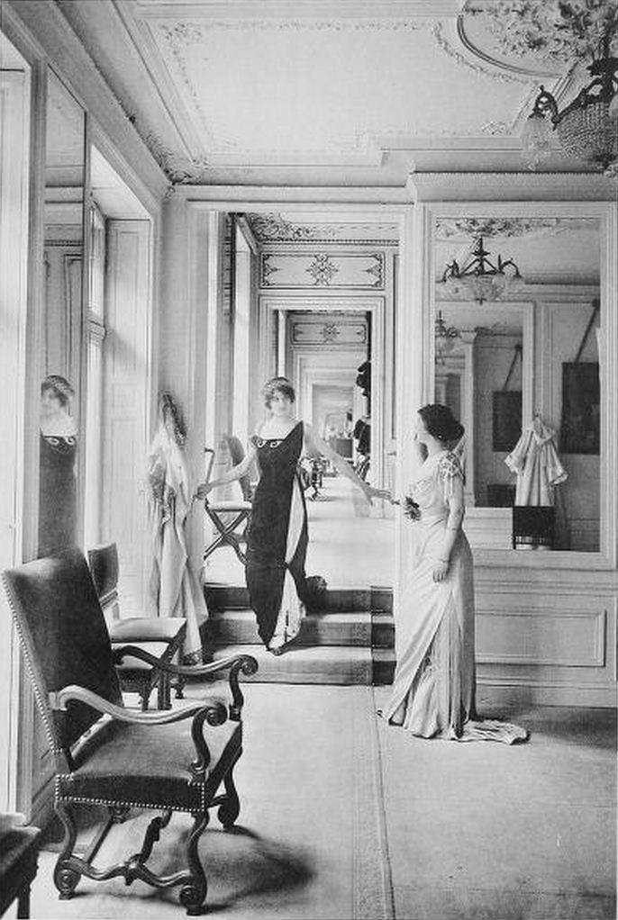 salon esseyage mode haute couture paris vintage 28 la boite verte. Black Bedroom Furniture Sets. Home Design Ideas