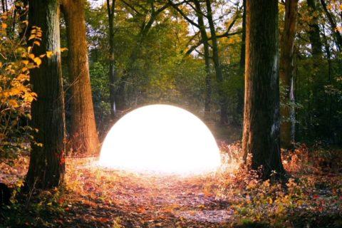 Un film expérimental de lumières en poses longues