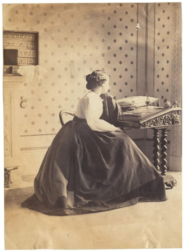 One of the First Ever Fashion Shoots - 150 Year Old Photos by Lady Clementina Hawarden Could Fetch £150,000 at Auction