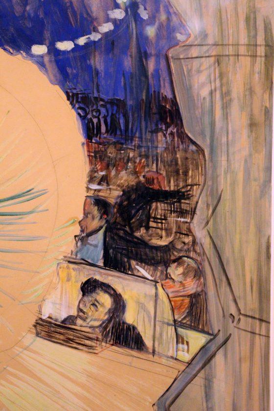 Loïe Fuller - Henri de Toulouse-Lautrec 1893