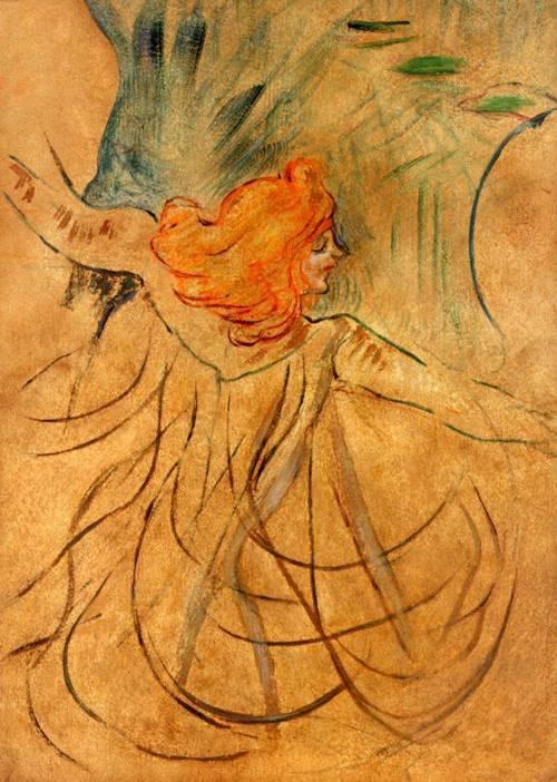 Loïe Fuller - Henri de Toulouse-Lautrec