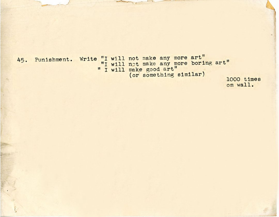 baldessari-punition