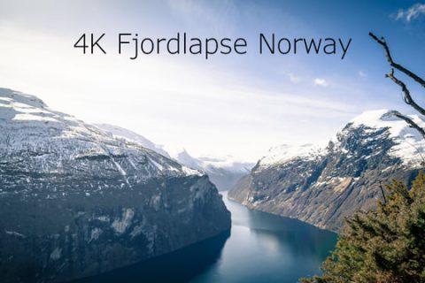 C'est joli les fjords de Norvège