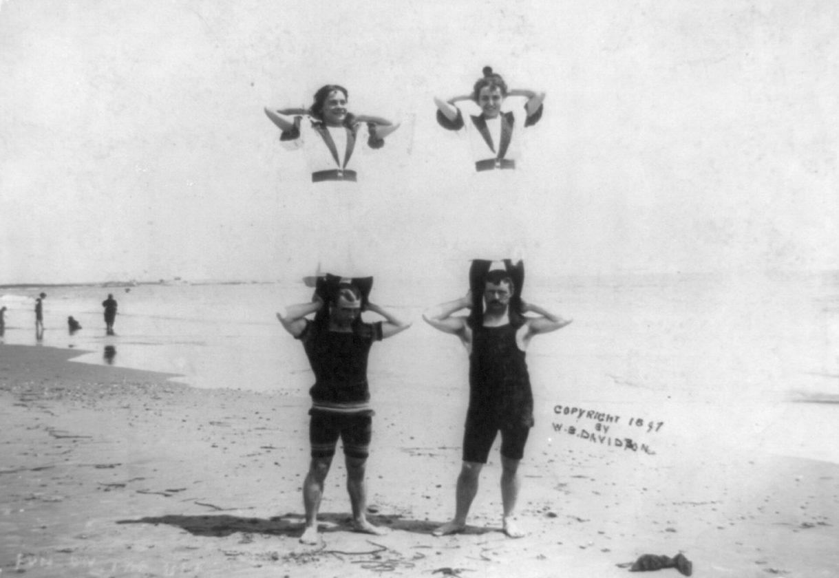 Les maîtres-nageurs sont là pour vous aider à traverser la plage si le sable est trop chaud