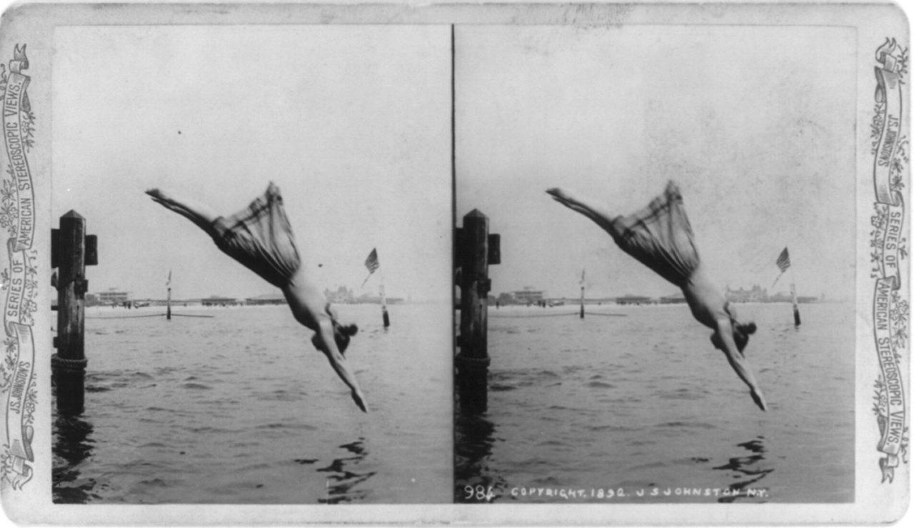 2. Participez à un concours de plongeon synchronisé