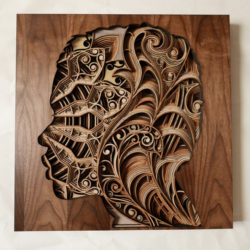 Gut gemocht Du relief dans des sculptures en strates de bois découpé au laser HY47