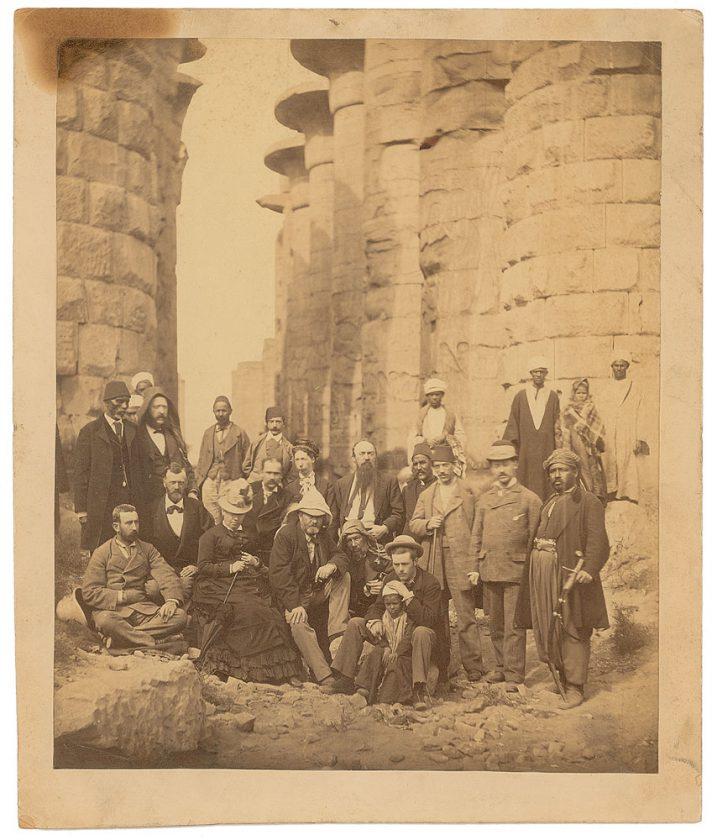 U. S. Grant Karnak Temple Complex Thebes