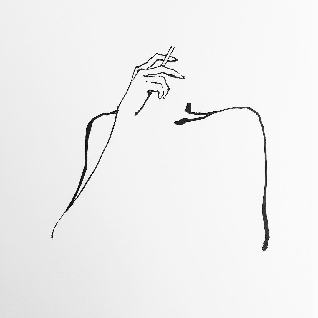 Ligne sensuelle 04 la boite verte for Dessin minimaliste