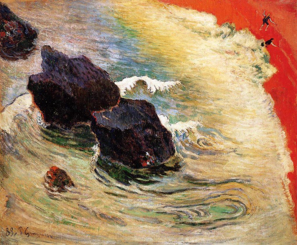 Gauguin_1888_La_Vague