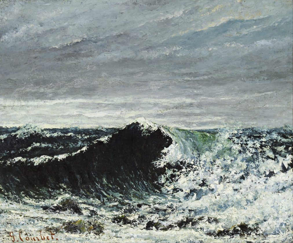 Gustave_Courbet_-_The_Wave