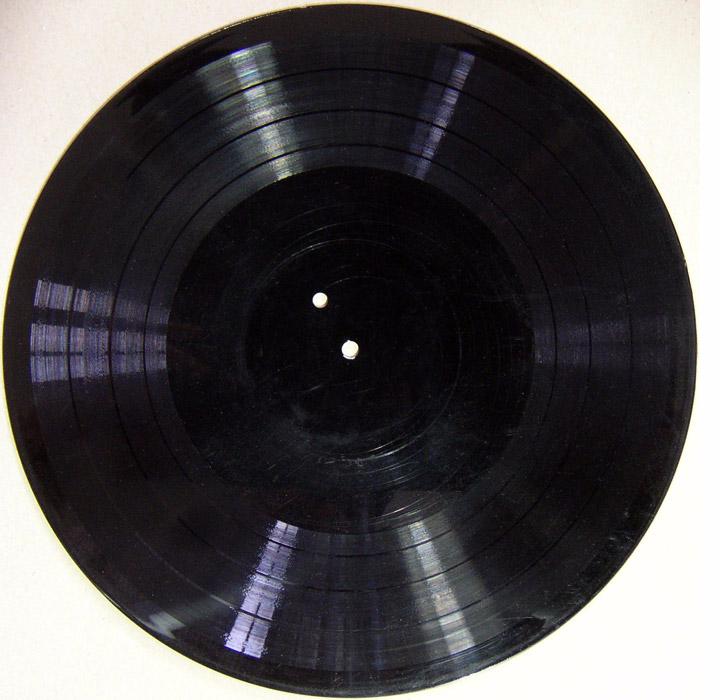 Le vinyl sur lequel la musique a été enregistrée par Alan Turing