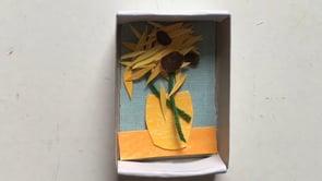 Les boites d'allumettes magiques qui créent de l'art