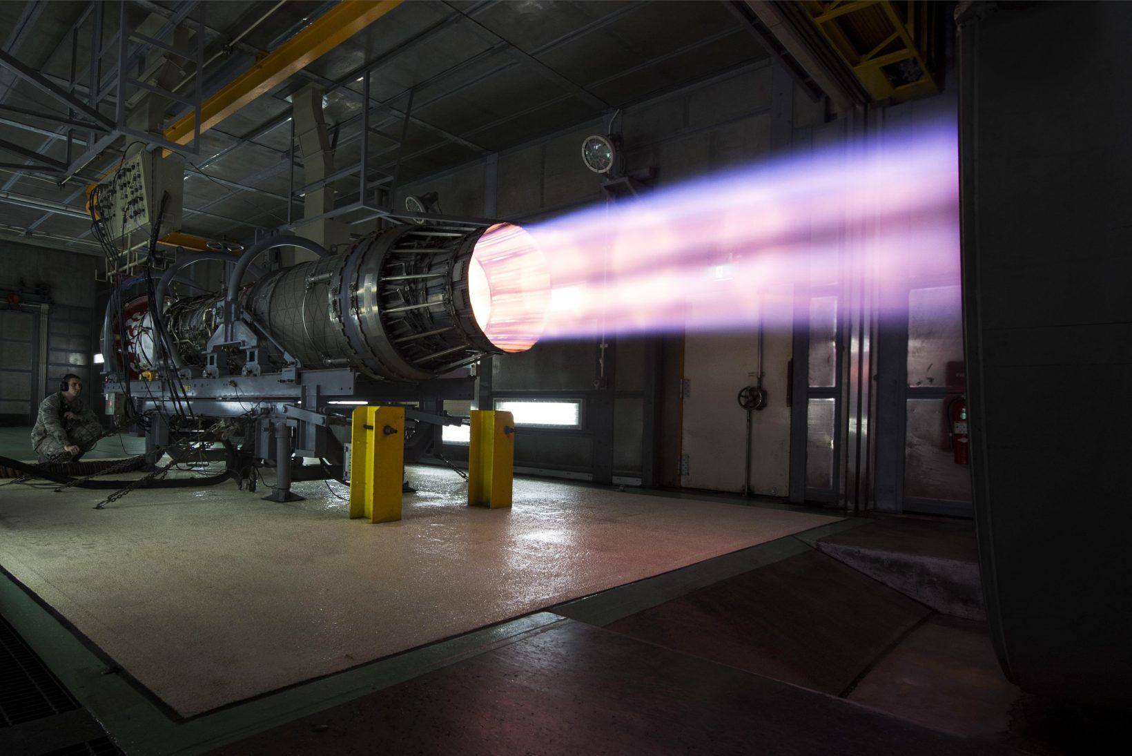 Réacteur de F-15 Eagle