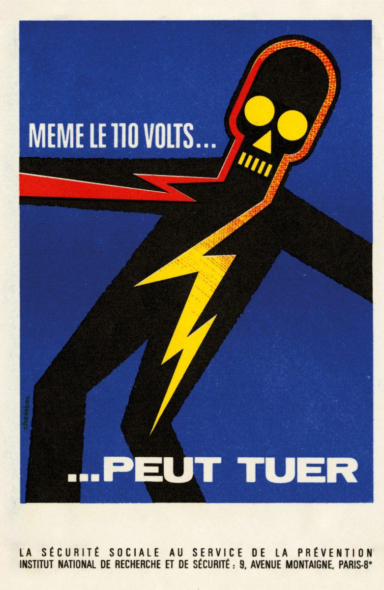 Bien-aimé La sécurité au travail en France avec les affiches de Bernard Chadebec PQ47