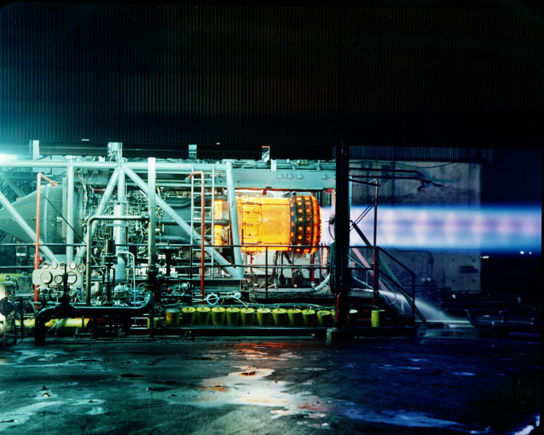 Un réacteur J58 du Lockheed SR-71 Blackbird