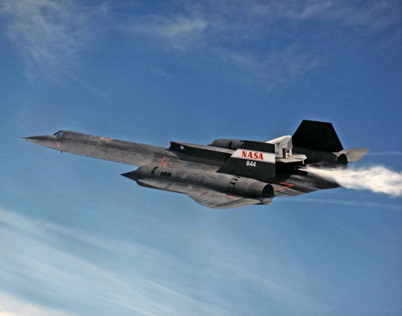 Test d'une tuyère aerospike en vol sur un ZR-71