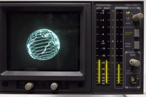 De la musique conçue pour être regardée sur un oscilloscope