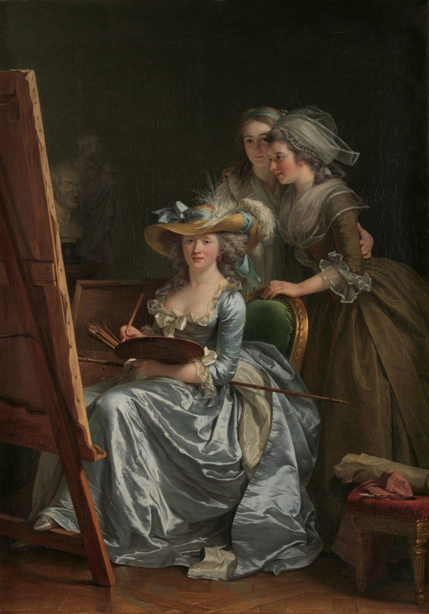 Adélaïde Labille-Guiard, Autoportrait avec deux élèves - 1785