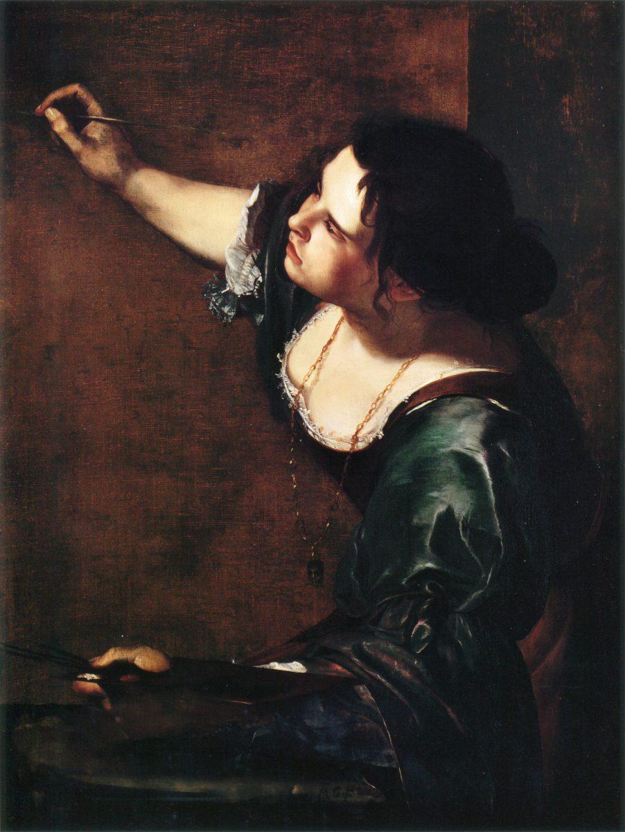 Artemisia Gentileschi, Autoportrait en Allégorie de la peinture - 1638