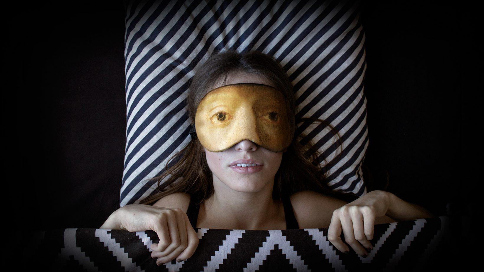 Des masques de sommeil avec des regards de peintures - Masque a peinture ...