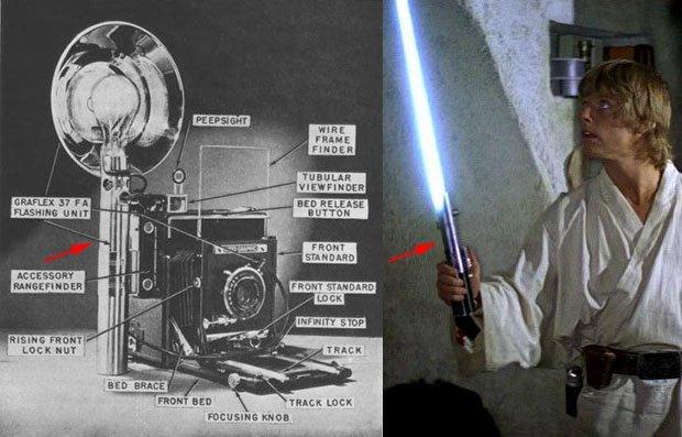 Le sabre laser original de Star Wars est un appareil photo ! (vidéo) By La boite verte Sabre-laser-graphlex-01