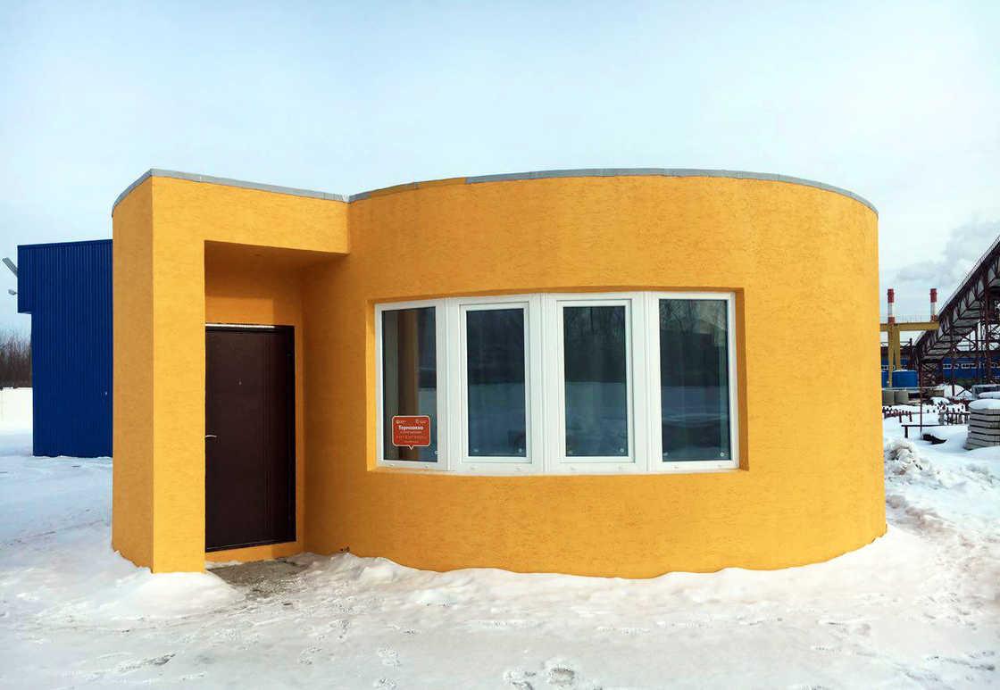 une maison imprim e en 3d en 24h pour 11000. Black Bedroom Furniture Sets. Home Design Ideas