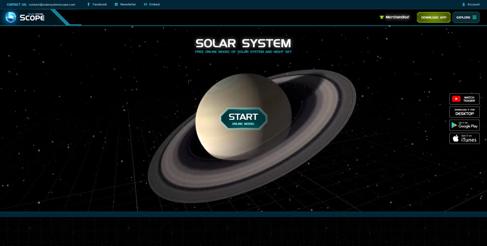 L'espace et les objets célestes comme terrain d'exploration